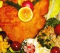 Pfundschnitzel für Pfundskerle an dreierlei Kartoffelsalat